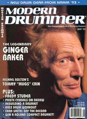 Ginger Baker - Modern Drummer
