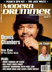 Dennis Chambers - Modern Drummer