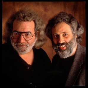David Grisman and Jerry Garcia