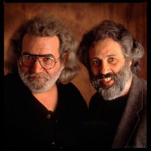David Grisman and Jerry Garcia