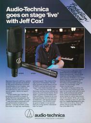 Jeff Cox - Audio Technica Microphones