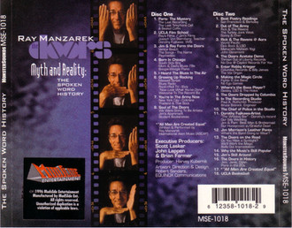 Ray Manzarek - CD cover