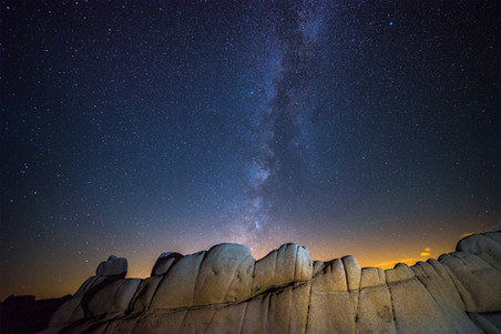 Milky Way over Jumbo Rocks