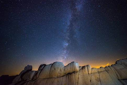 Milky Way over Jumbo Rocks