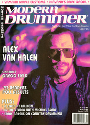 Alex Van Halen - Modern Drummer