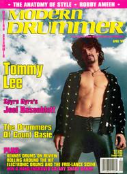 Tommy Lee - Modern Drummer