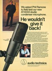 Phil Ramone - Audio Technica Microphones