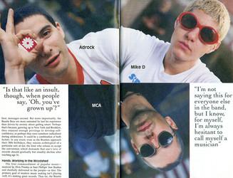 Beastie Boys Pulse Magazine