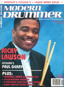 Ricky Lawson - Modern Drummer
