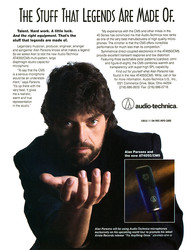 Alan Parsons - Audio Technica Microphones