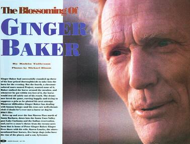 Ginger Baker published