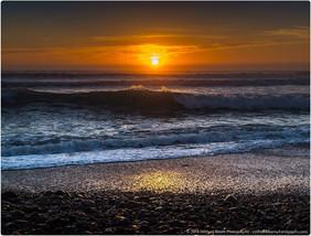 Sunset over Jalama