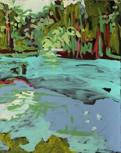Aquamarine-Reflection, Jane Medvid