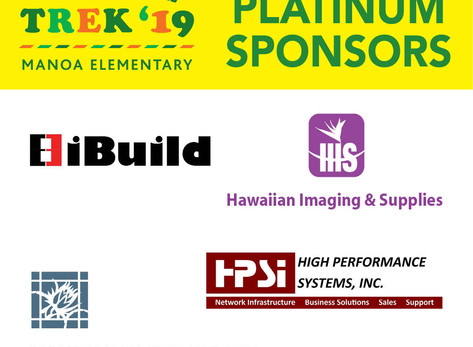 Mahalo to all of Corporate Sponsors 2019 Tiger Trek