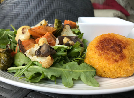 Sweet Potato and Chickpea Falafels