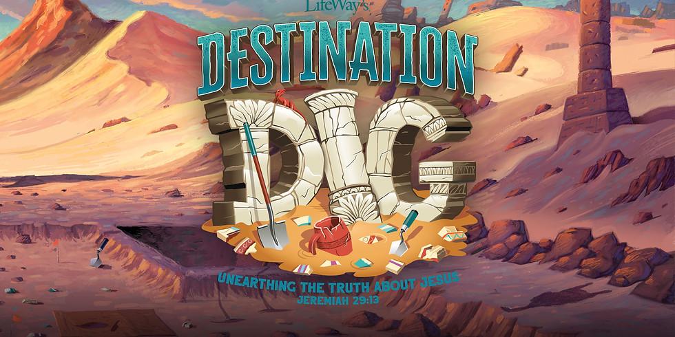 DESTINATION DIG VBS 2021