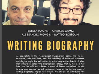 Writing a Biography - February 19, 2021 - 3:15 PM on ZOOM: 883 2358 6201- Passcode: 23021927