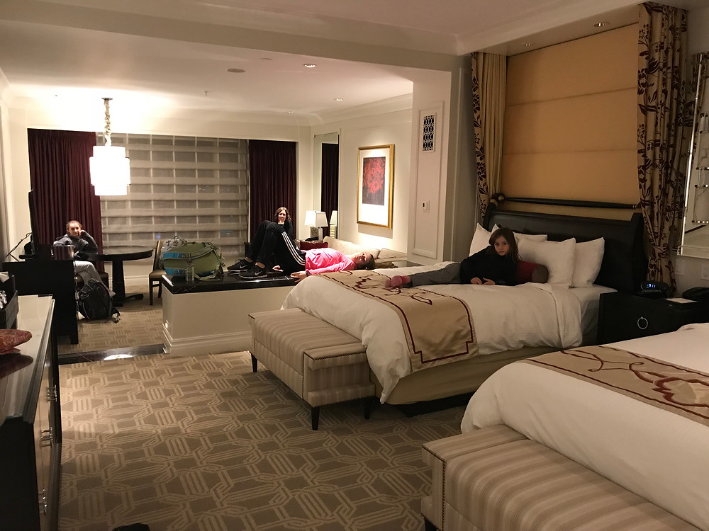 Palazzo hotel in Las Vegas has amazing space for a family