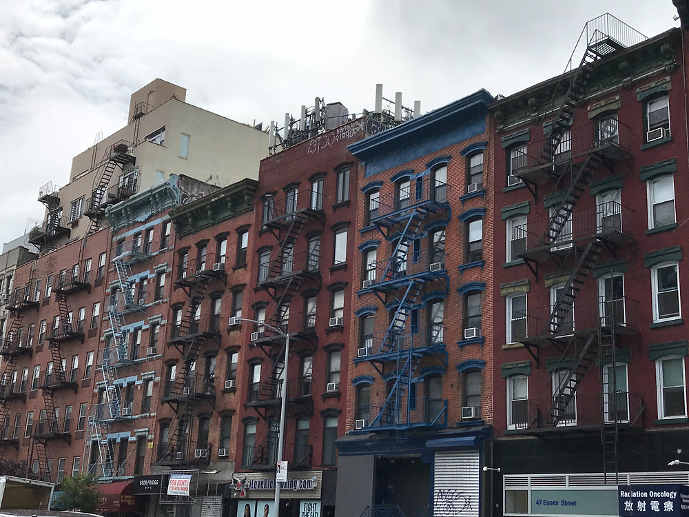 Lower East Side Tenement Buildings, New York City
