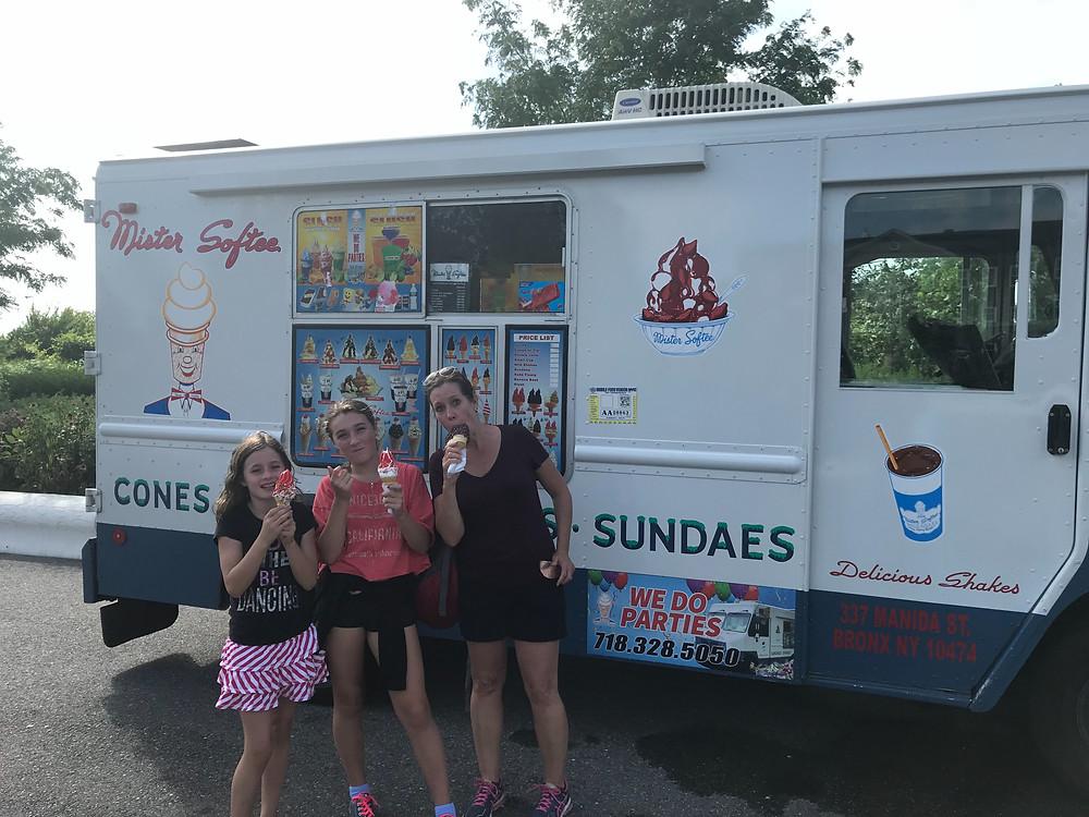 Mister Softee Ice Cream Truck, Governor's Island, New York