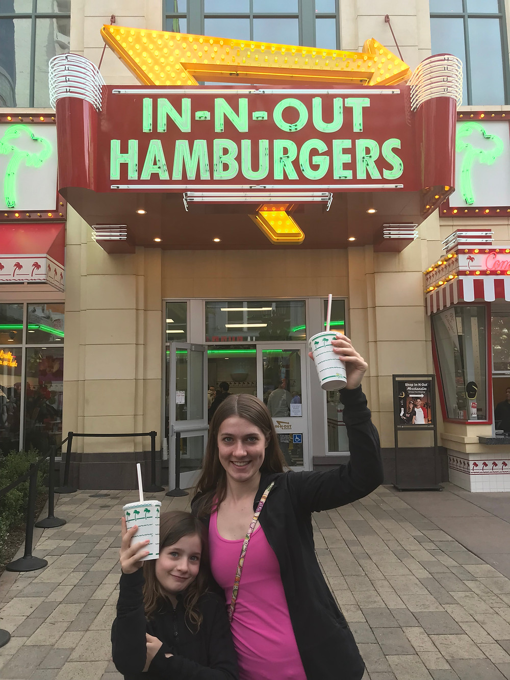 In N Out Burgers, Las Vegas. A family favorite and one of the best dining deals on the strip.