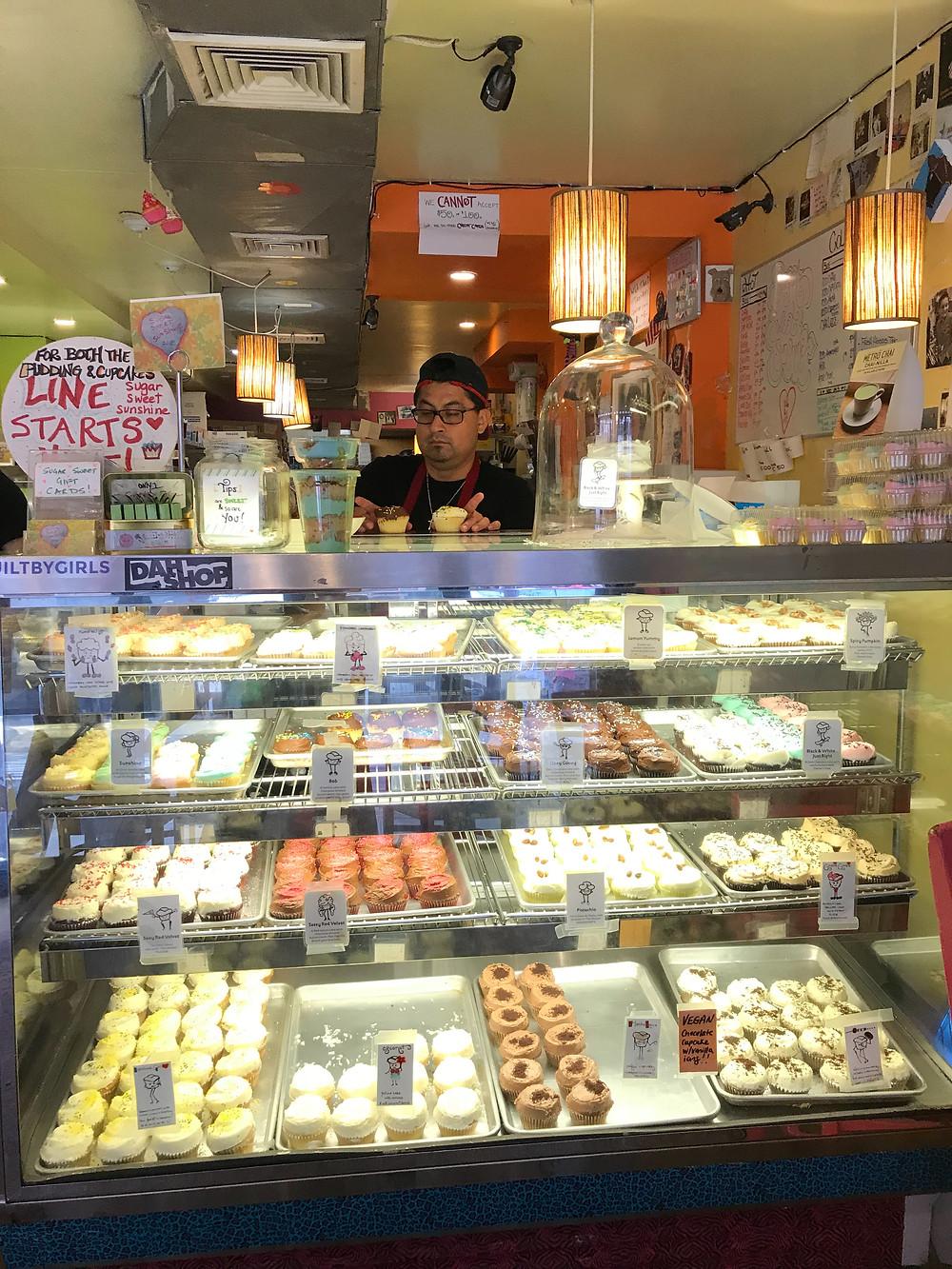 Sugar Sweet Sunshine cupcake shop, New York, New York
