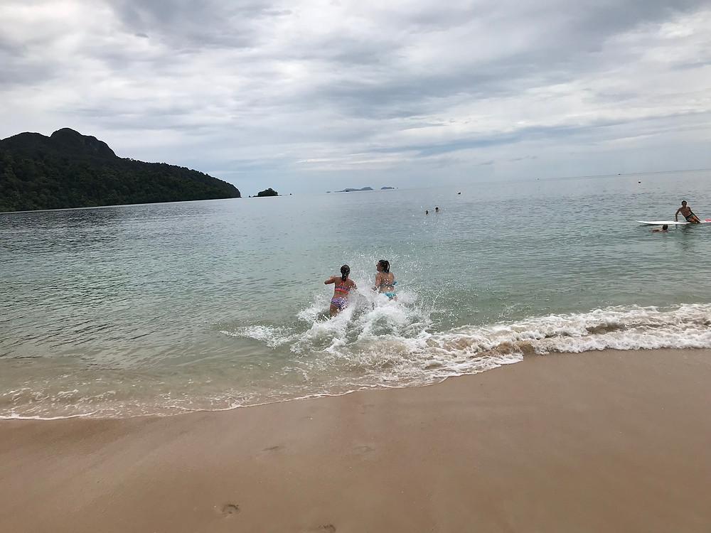 Datai Beach at the Andaman Resort, Andaman Bay, Langkawi, Malaysia