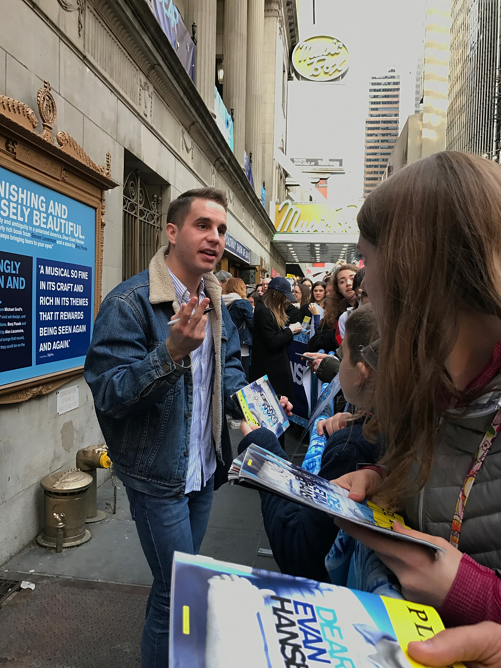 The most sought after guy on Broadway 2017
