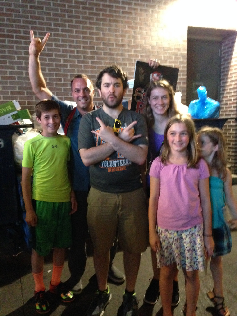 Alex Brightman, a Tony nominee for School of Rock was just as funny off stage as on.