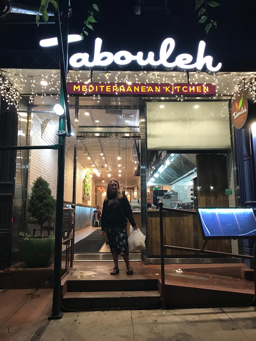 Tabouleh restaurant, New York City