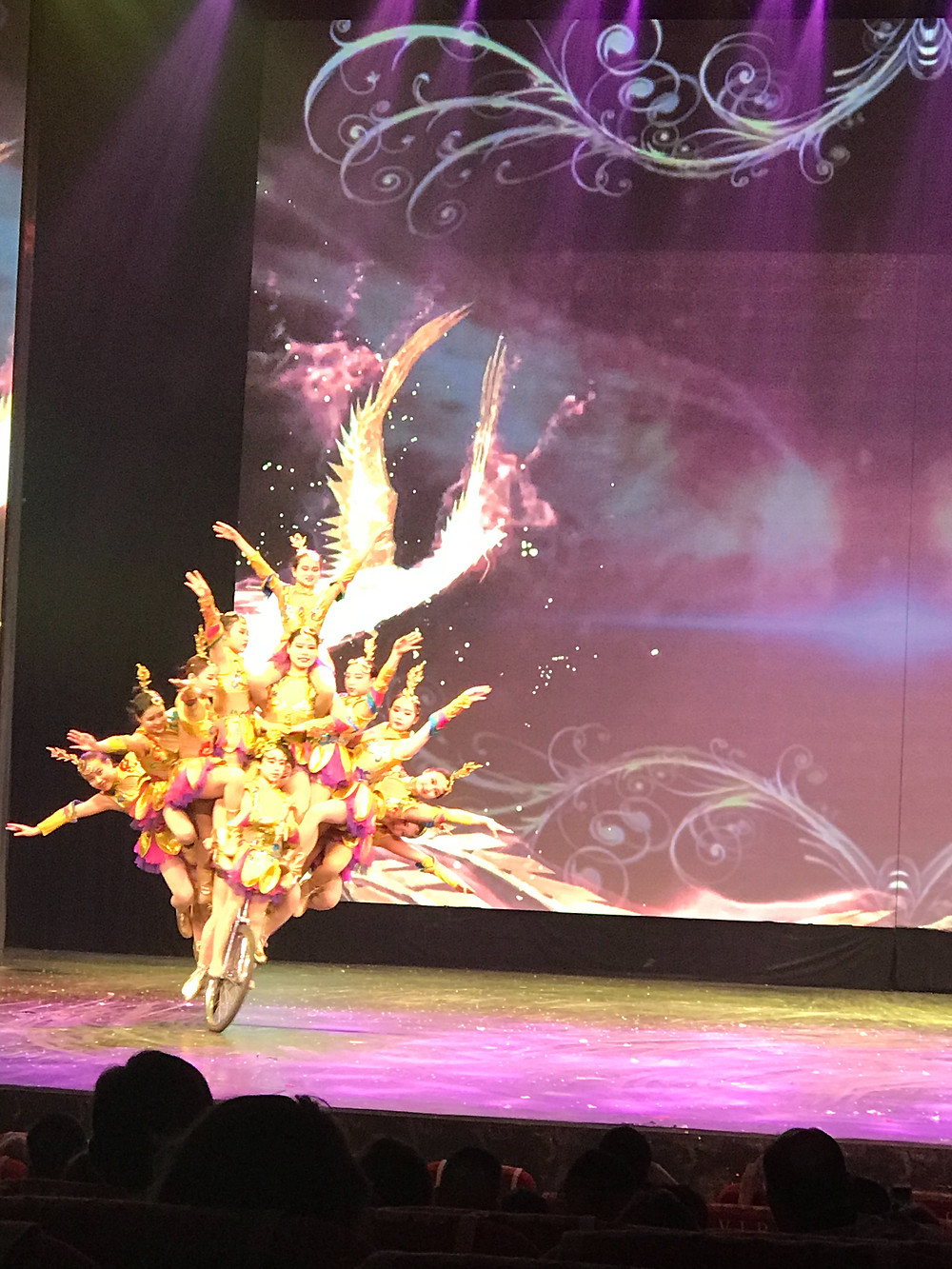 Chaoyang Theatre, Acrobatic show, Beijing, China