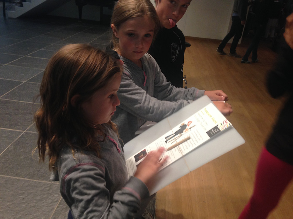 Van Gogh Museum in Amsterdam has a terrific kids program to keep them engaged and get the most of their exhibits
