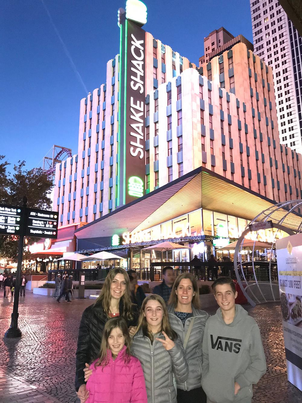 Shake Shack at the New York New York hotel in Las Vegas