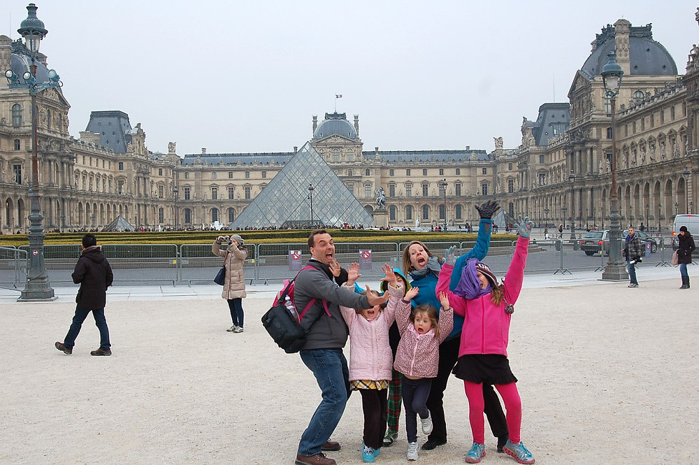 While some museum may drive your kids nuts, in focused doses your kids can learn a lot during some once-in-a-lifetime moments. Louvre - Paris, France