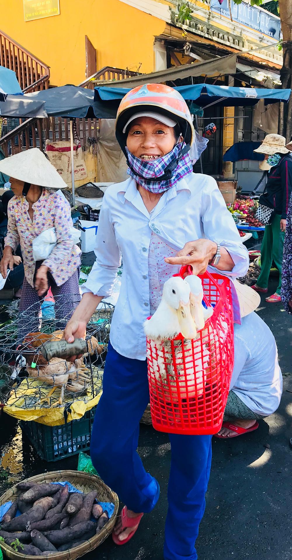 Hoi An, Vietnam central market