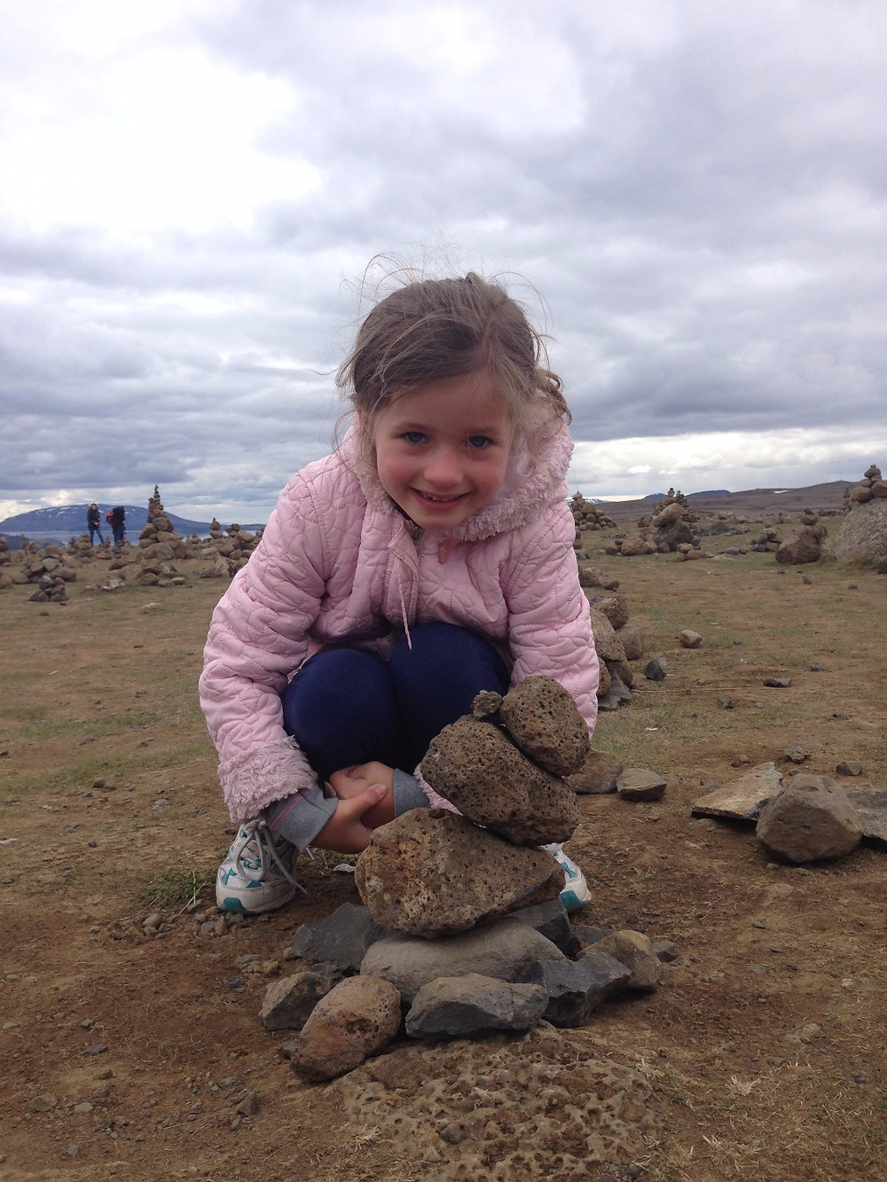 Stacking Rocks can be hours of fun.