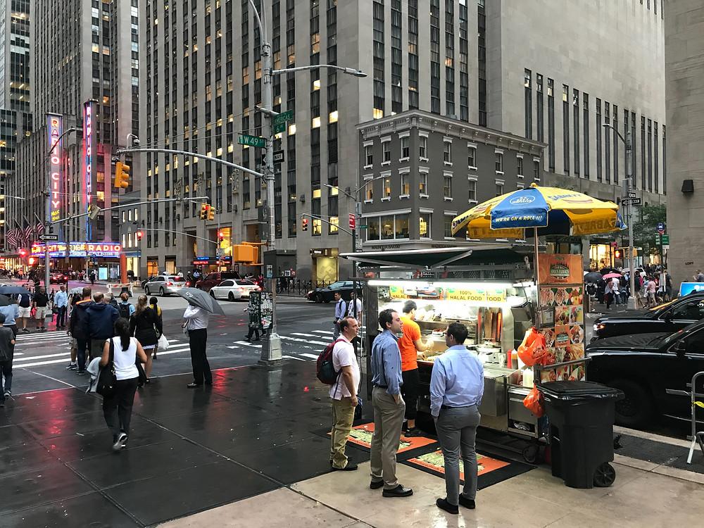 Adel's Halal Food Truck, New York City
