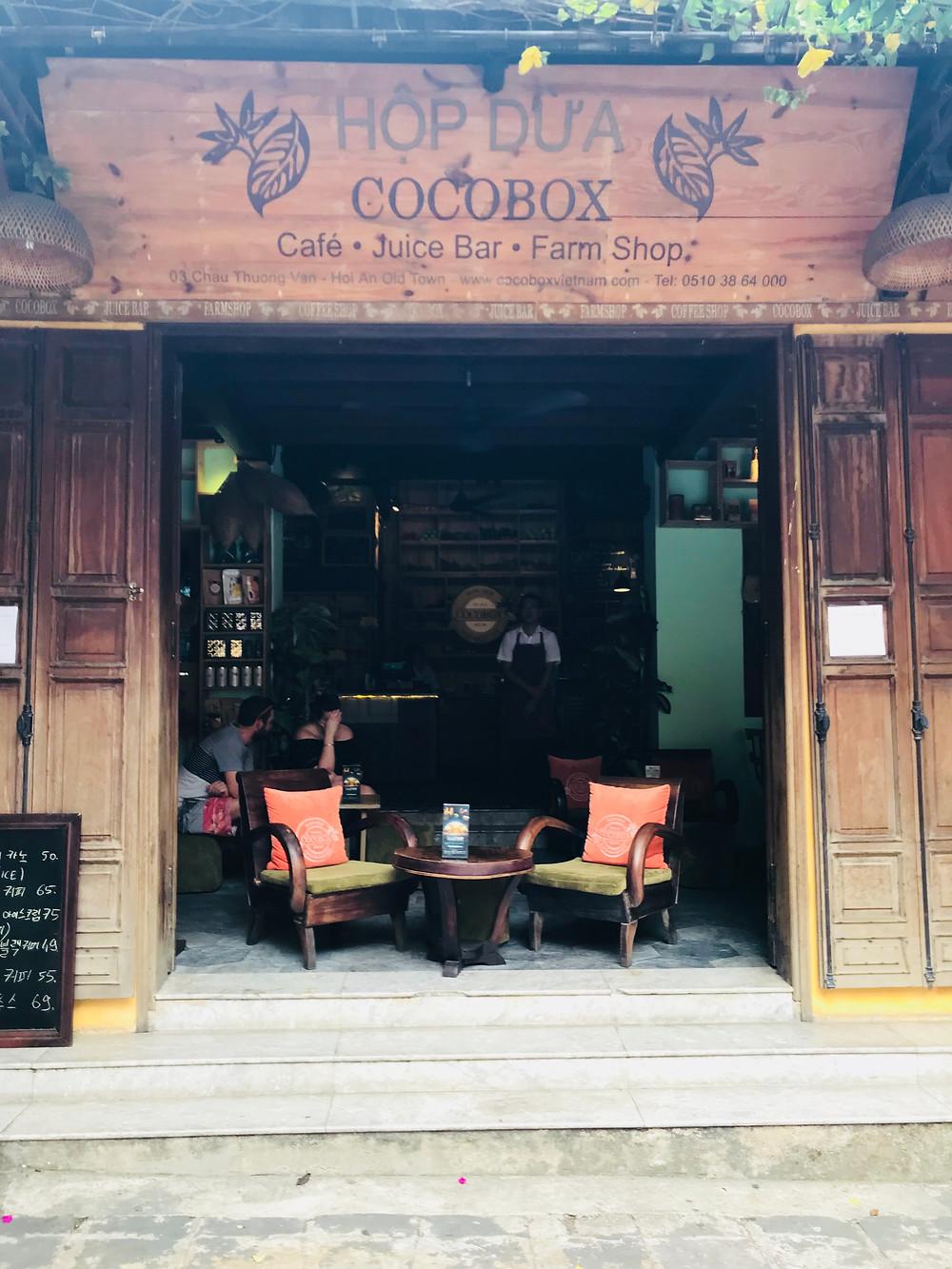 Coffee shop, Hoi An, Vietnam
