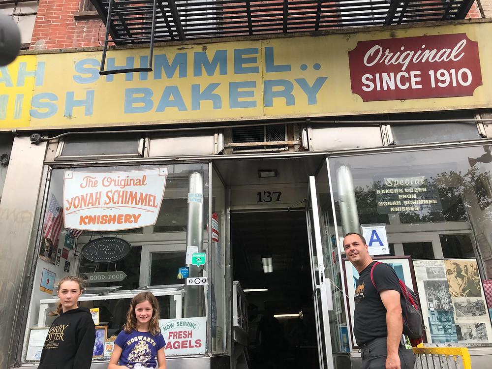 Yonah Shimmel Knish Bakery, New York City, New York