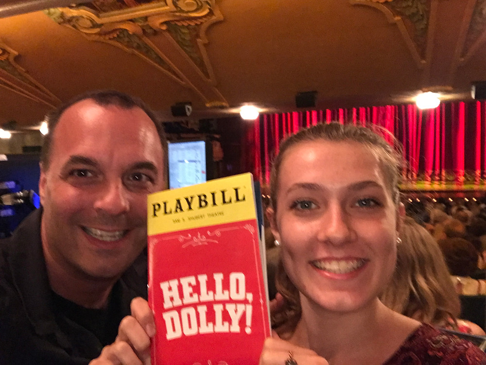 Tickets to see Bette Midler in Hello, Dolly were running $800 each when we were in town. Rush seats got us standing room for $59 each, center orchestra. It was awesome.