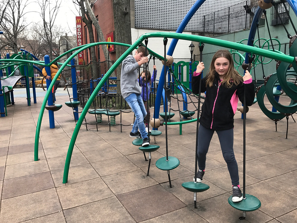 Our kids can find parks anywhere