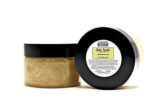 Lemongrass Tea Body Scrub