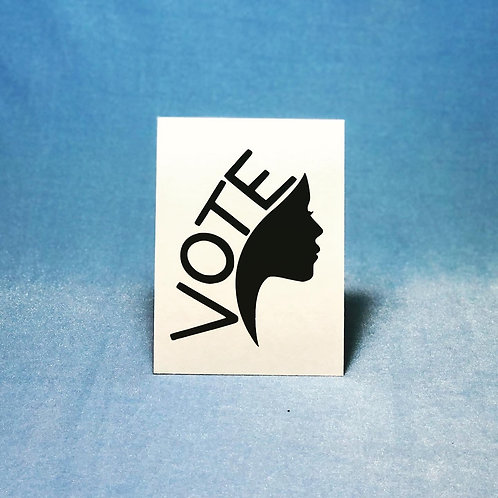 vote decal
