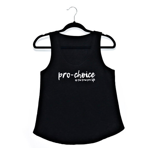 pro-choice fitted tank