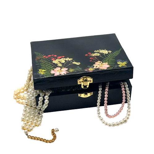 dark botanical keepsake box