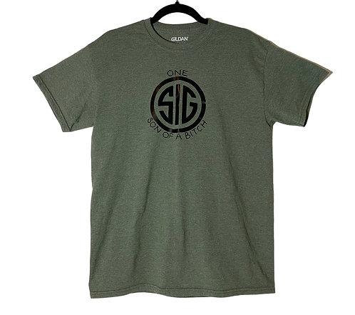 one Sig SOB shirt