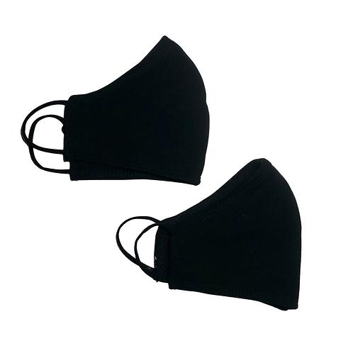 pair of black masks