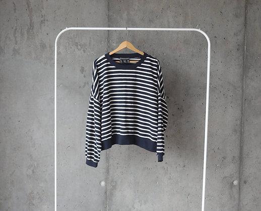 Bluzka oversize w paski XL