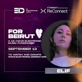 beatport reconnect together for beirut fundraiser