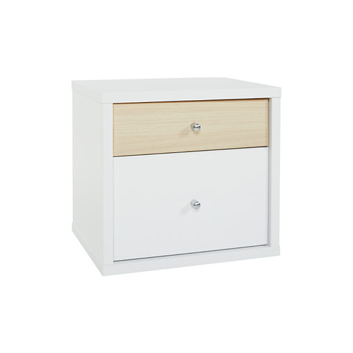 COSMO TWO DRAWER BEDSIDE